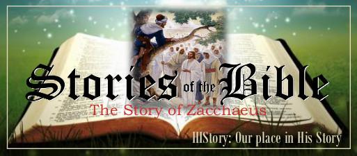 Bible Stories Web March 8 - Zacchaeus