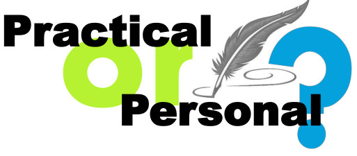 July 19 Practical or Personal