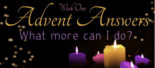 Advent Answers - Week 1